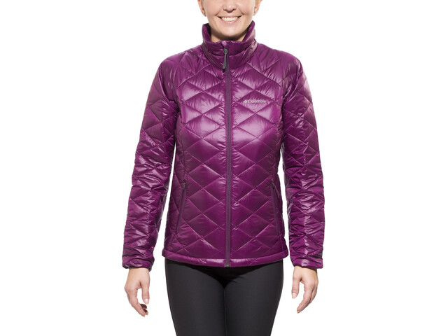 Columbia Trask Mountain Jacket 650 TurboDown Damen purple dahlia